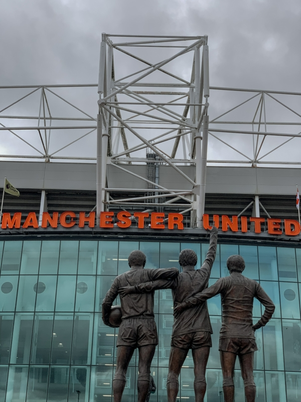 Old Trafford Stadium - Manchester United front view