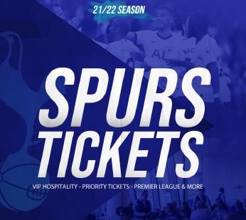Tottenham Hotspur tickets ad