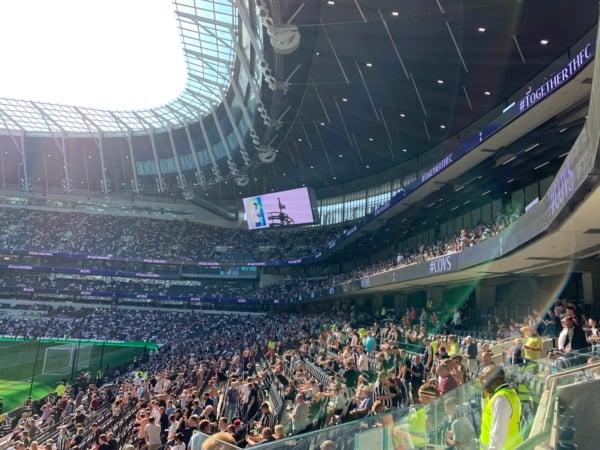 Tottenham Hotspur Stadium Interior View