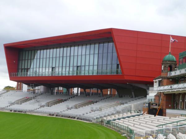 Old Trafford Stadium Side View