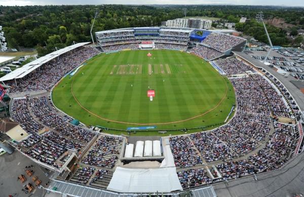 Edgbaston Cricket Ground Aerial View